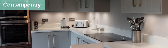 contemporary kitchens fitted