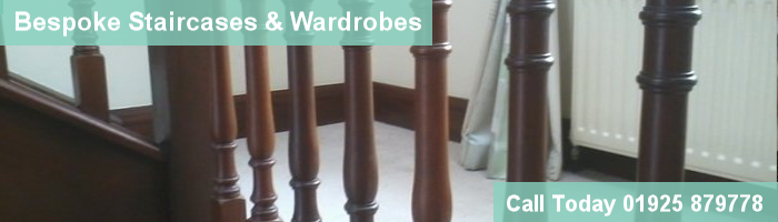 bespoke wooden staircases and wardrobes fitted